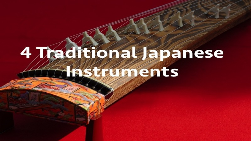 4 Traditional Japanese Instruments: History and Current Uses