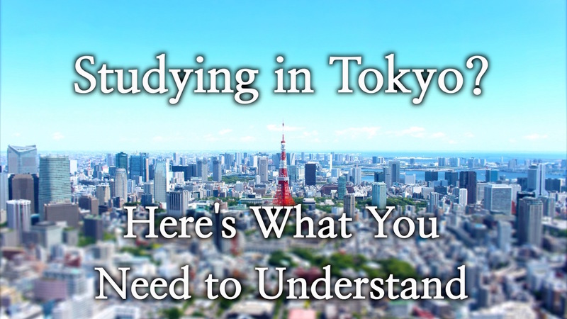 Studying in Tokyo? Here's What You Need to Understand